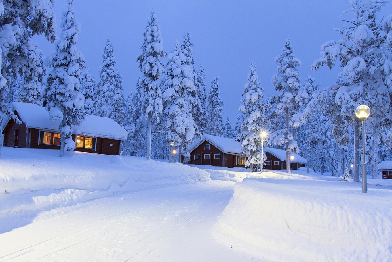 L'hiver en Laponie
